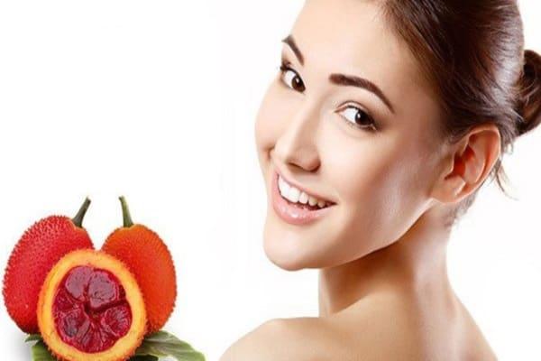 Sử dụng dầu gấc tốt cho da và tóc